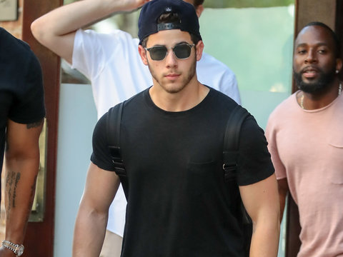 Nick Jonas Steps Out in Sunny NYC