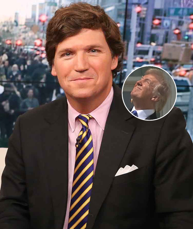Twitter Pounces on Tucker Carlson for Praising Trump Over Eclipse
