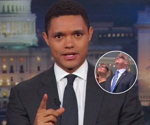 Trevor Noah Thinks Melania Trump Blew Her 'Chance to Escape' During Solar Eclipse
