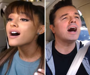 Grande and MacFarlane's 'Little Shop of Horrors' Duet Is 'Carpool Karaoke' Magic