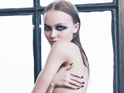 Johnny Depp's Daughter Lily-Rose Depp Celebrates Turning 18 by Going Topless