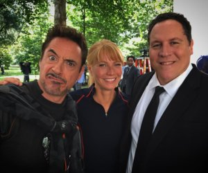 'Iron Man' Crew Shares Selfie from the Set of 'Infinity War'