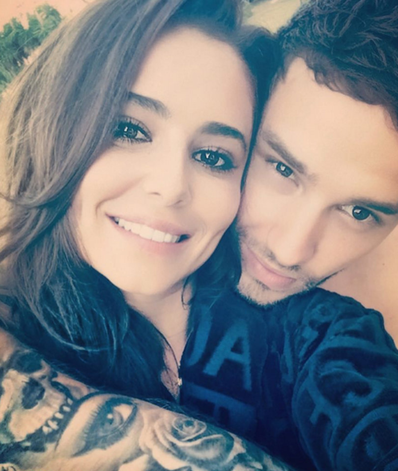 Liam Payne and Cheryl Cole Show Rare Selfie Love on Instagram