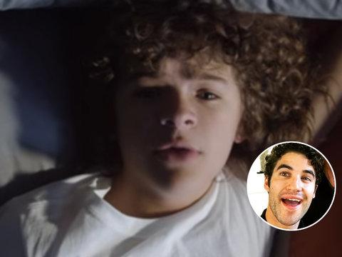 Darren Criss Recruits 'Stranger Things' Star Gaten Matarazzo Music Video