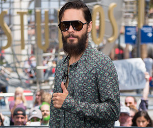It's Thumbs Up from a Grizzly Jared Leto at Universal Studios