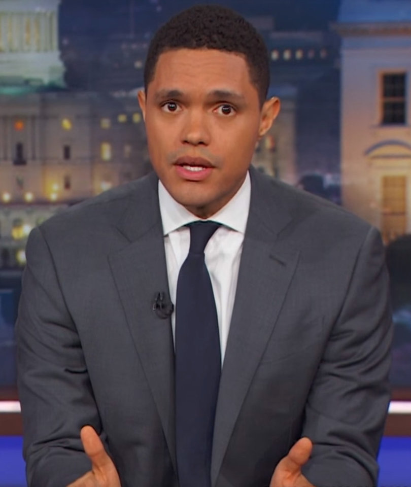 Trevor Noah Compares Trump's Arizona Rally to 'Racist Sneaker' Release Party