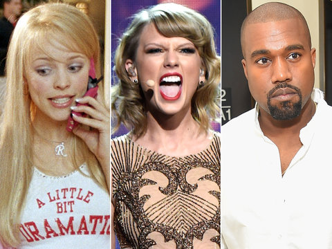 Taylor Swift's New Song References: 'Mean Girls,' Kanye and Right Said Fred