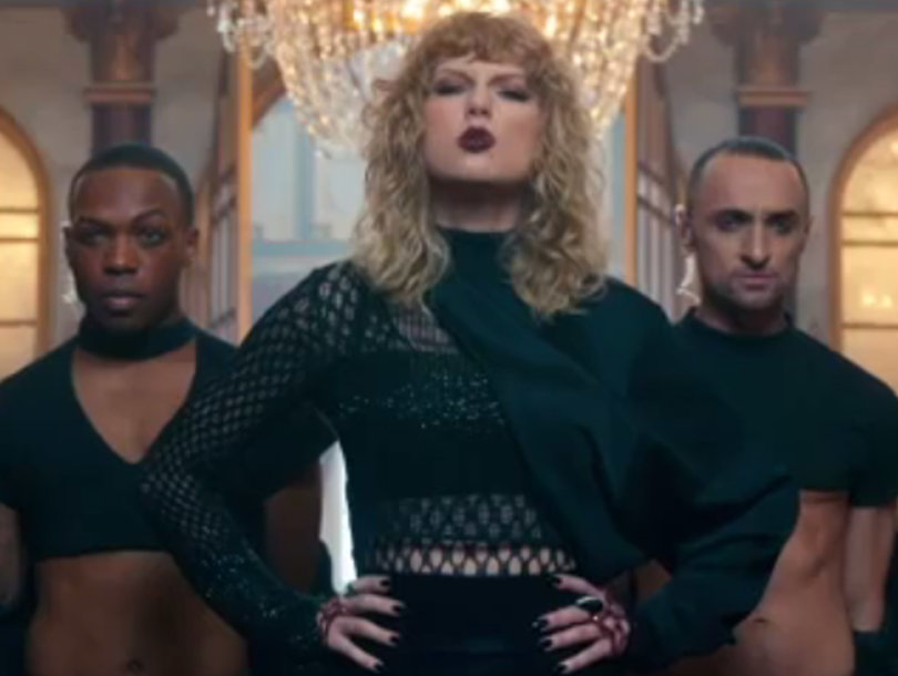 Taylor Teases Dark 'Look What You Made Me Do' Video Amid Social Media Frenzy