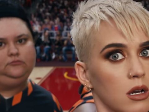 Why Katy Perry's Plus-Size Star Is Pissed Over 'Swish Swish' Video