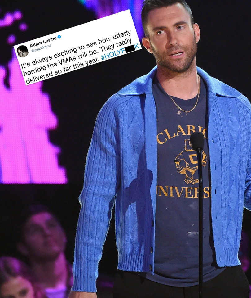 VMAs Were 'Utterly Horrible,' According to Adam Levine
