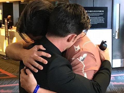 Drake And Josh Hug It Out After Wedding Drama at the VMAs