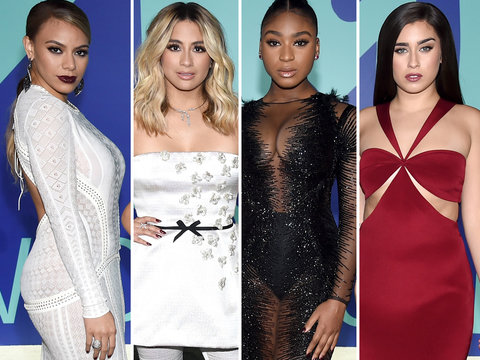 Fifth Harmony Rock Mismatched Style at the MTV VMAs 2017