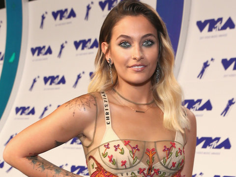 Paris Jackson Strips Down to Meditate in Her Undies