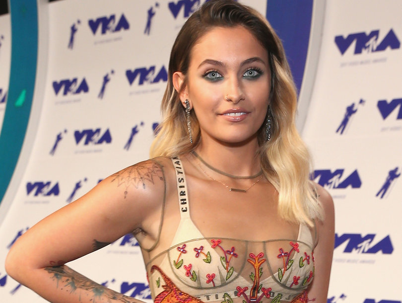 Paris Jackson Shows Off New Spiritual Tattoo in Topless Photo