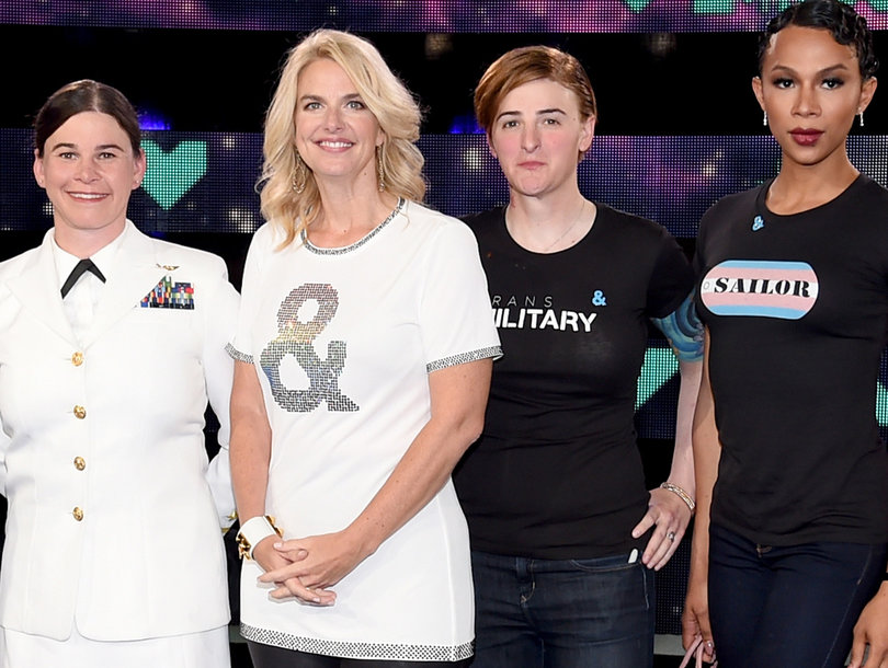 Transgender Service Members Give Advice to Transgender Youth at VMAs 2017