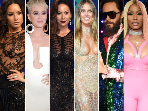 MTV VMAs 2017 Red Carpet Arrivals: Every Must-See Look