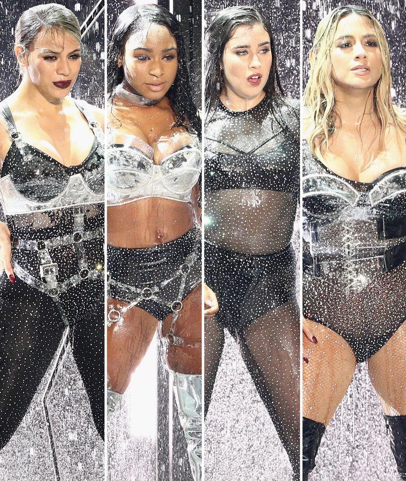 VMAs Shade! Fifth Harmony Boots 'Camila Cabello' Off Stage