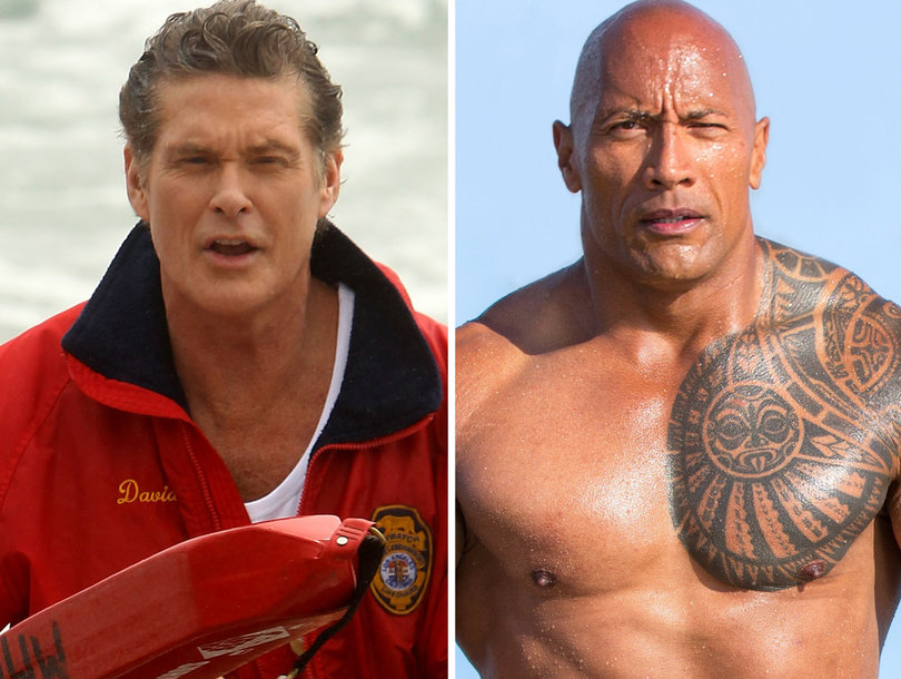 Why David Hasselhoff Takes Credit for the 'Baywatch' Movie's Overseas Success