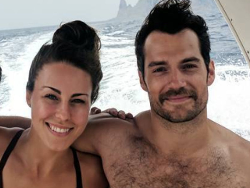 Henry Cavill and His Stache Soak Up the Rest of Summer