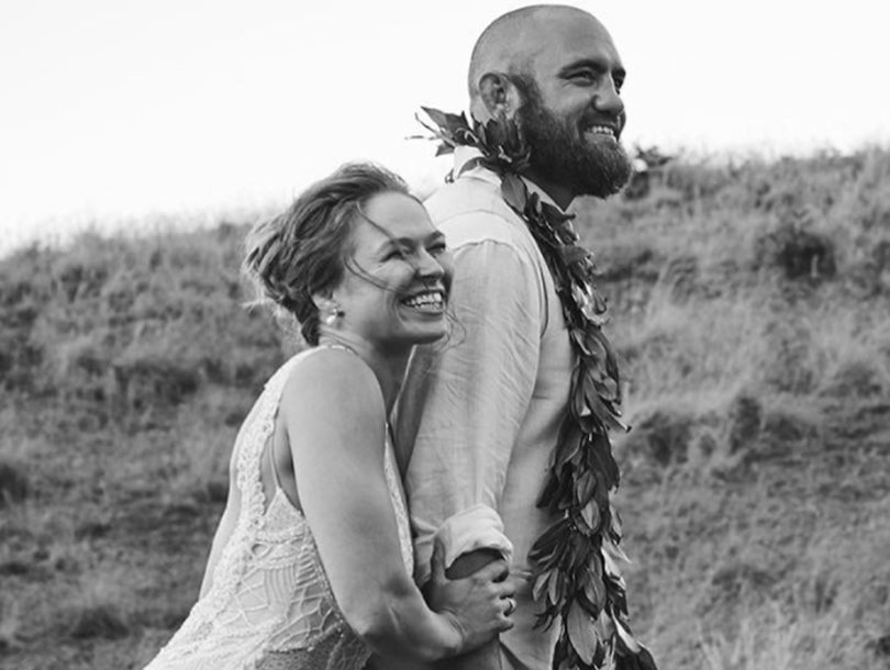 All the Details on Ronda Rousey's Wedding Gown