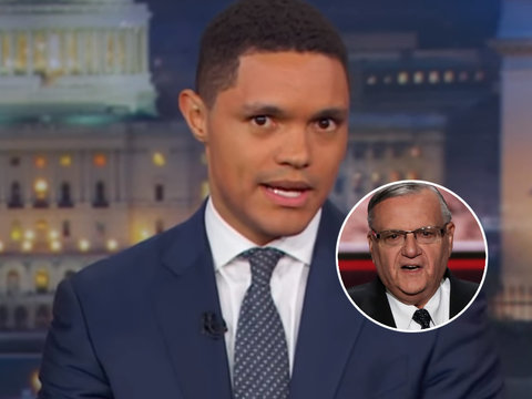 Trevor Noah Trashes Trump for Pardoning 'Worst Sheriff in America'