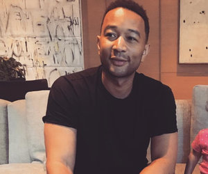 See Shirtless John Legend Hit the Beach In Italy
