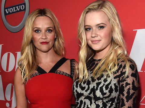 Reese Witherspoon and Ryan Phillippe's Daughter Stuns at 'Home Again' Premiere