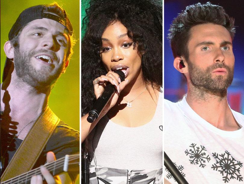 3 Songs You Gotta Hear on #NewMusicFriday: Maroon 5, Thomas Rhett, SZA