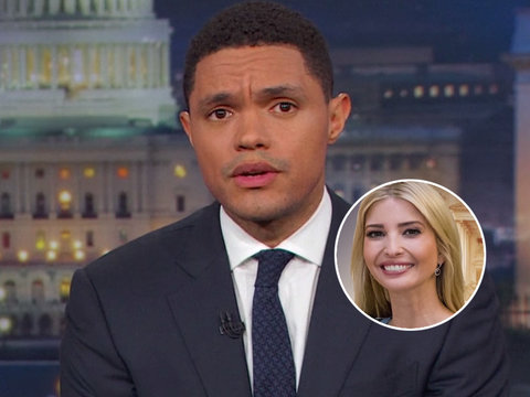 'Daily Show' Unleashes on Ivanka Trump: 'She Lied Because She Sucks'