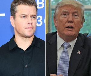 Matt Damon Reveals Real Reason Donald Trump Has Pile-Up of Movie Cameos