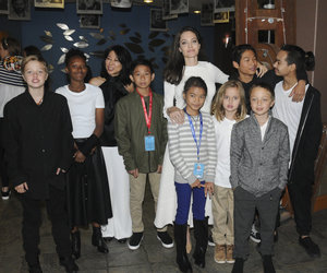 Angelina Jolie And All Her Kids Hit Telluride Film Festival