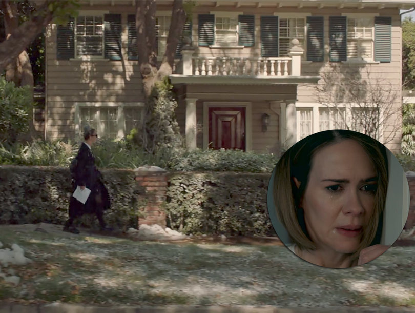 Why Sarah Paulson's 'American Horror Story: Cult' House Looks So Familiar to Horror Movie Fans