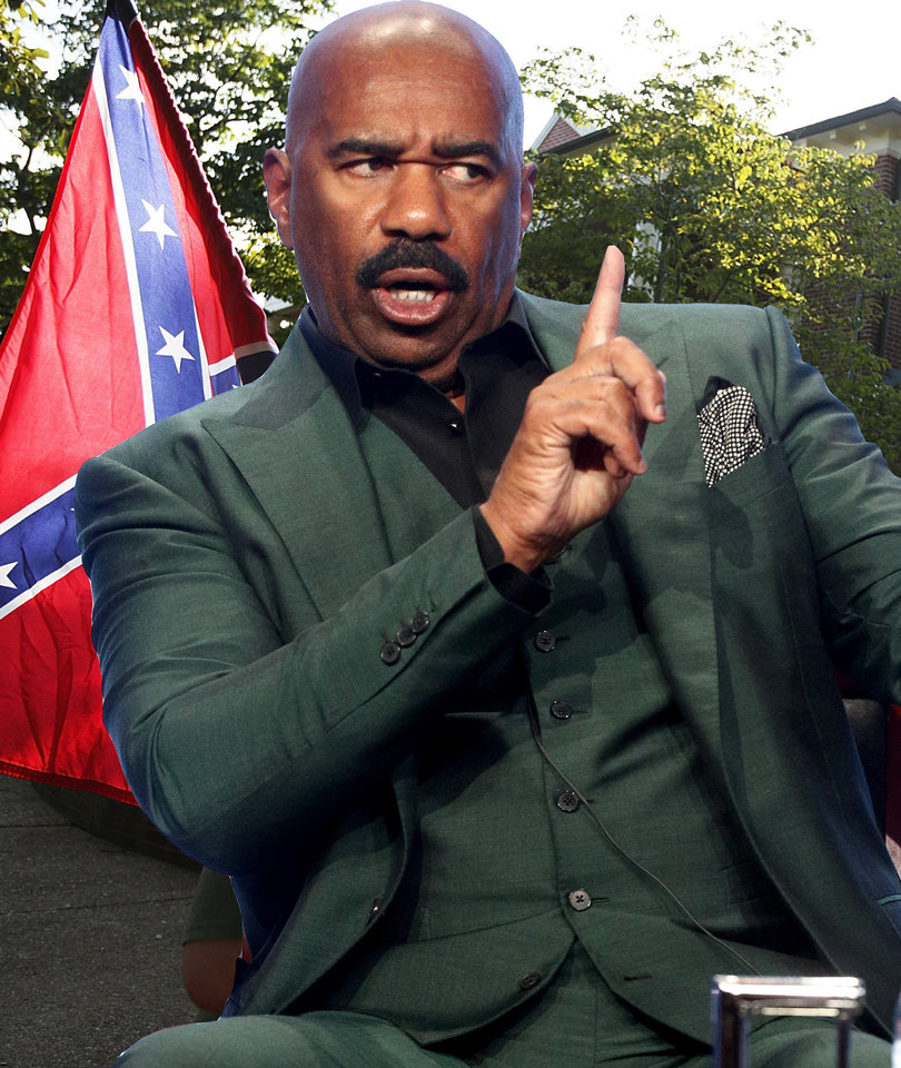 Steve Harvey to Those Defending Confederate Statues: 'Get Your Ass a Museum'