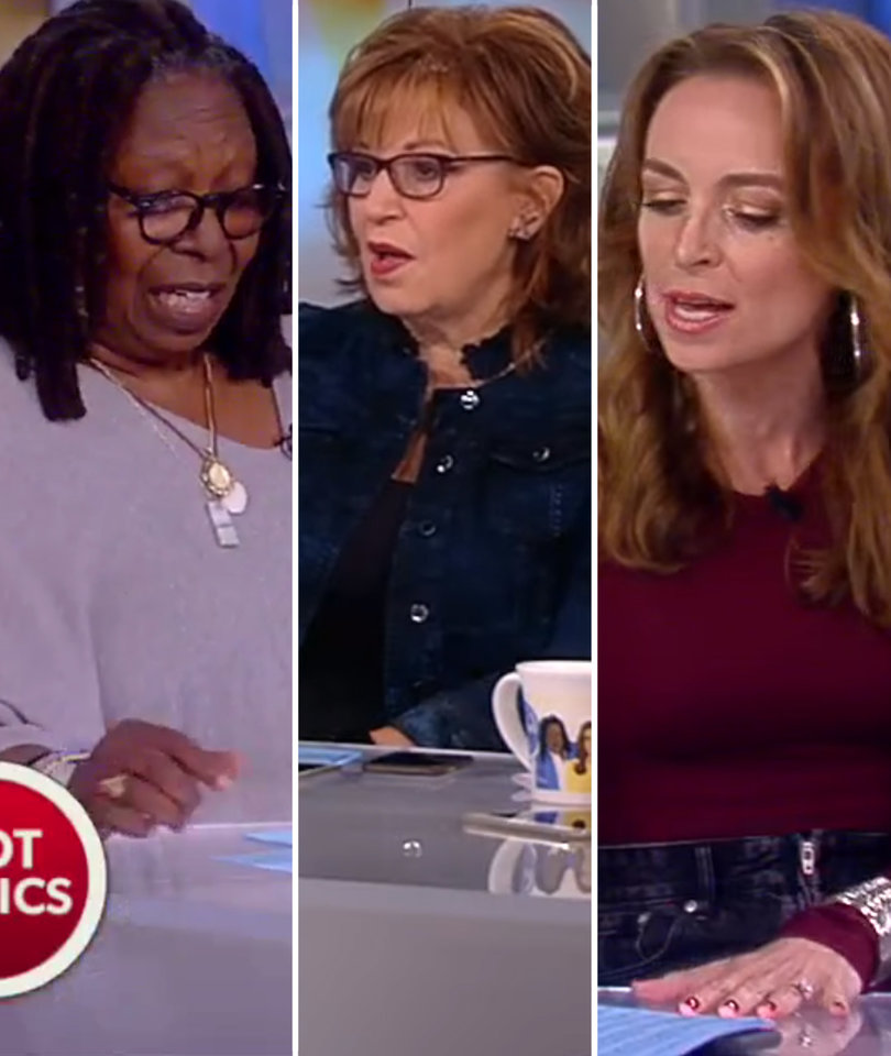 'The View' Spars Over DACA Repeal, Joy Accuses Trump Administration of 'Racism'