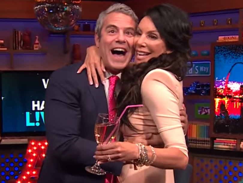 Danielle Staub Crashes 'WWHL' to Dish on 'RHONJ' and Shocks Andy Cohen