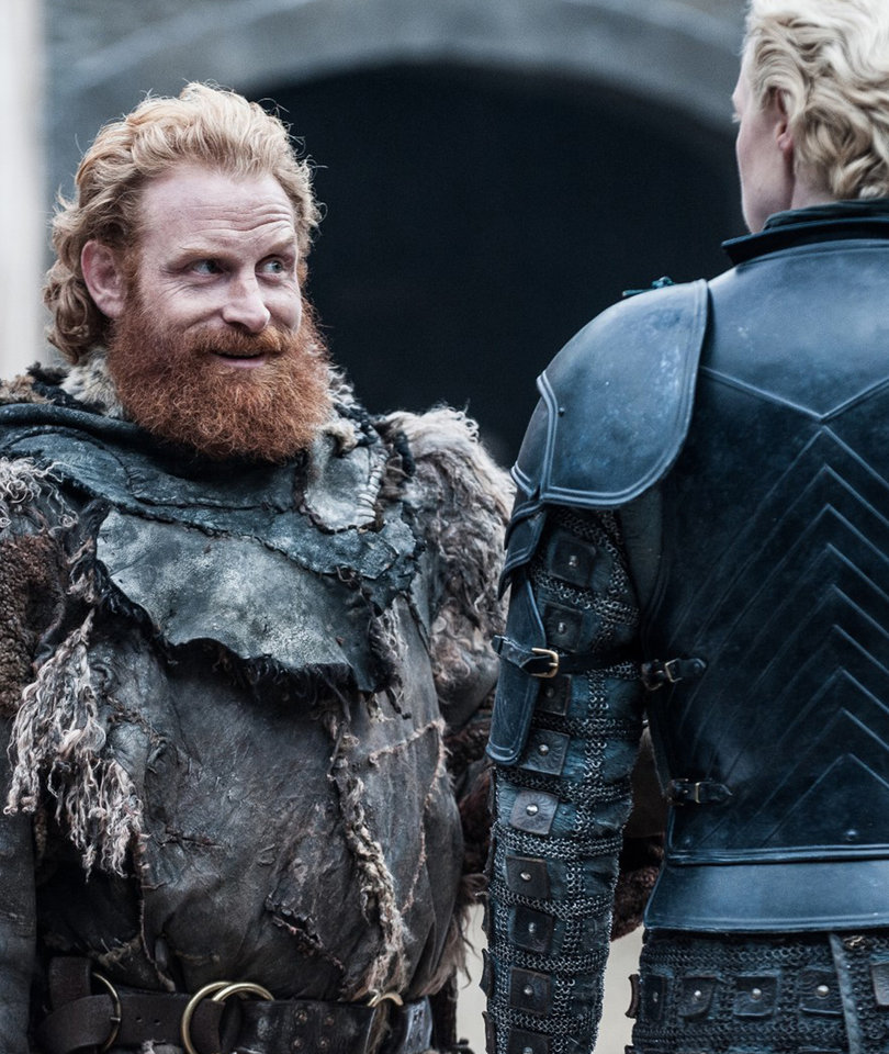 'Game of Thrones' Star Gwendoline Christie Says Tormund Creeps Her Out Off Set