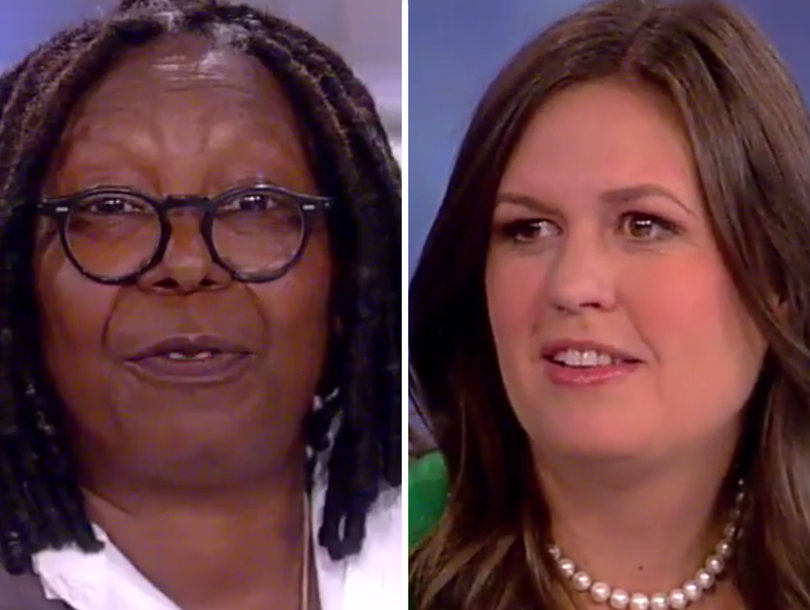 Sarah Huckabee Sanders Clashes with 'View' Over Trump's Treatment of Women, DACA