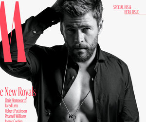 See W Magazine's New Royals Covers Starring Chris Hemsworth's Abs
