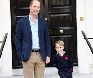 Prince George's First Day of School Pose Is Too Cute for Words
