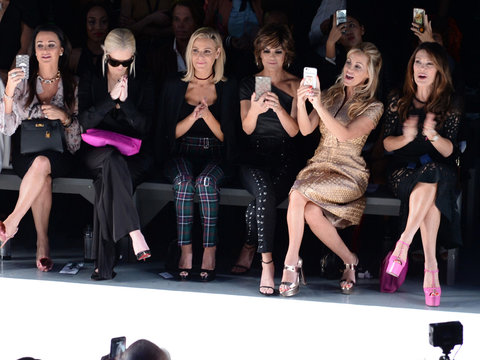 Why Camille Grammer Was with the 'RHOBH' Cast at NYFW