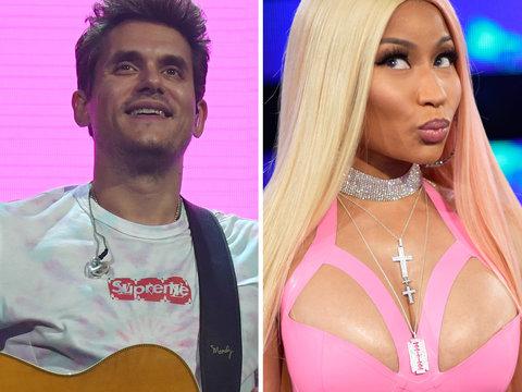 John Mayer Is Speechless After Nicki Minaj Flirts with Him on Twitter