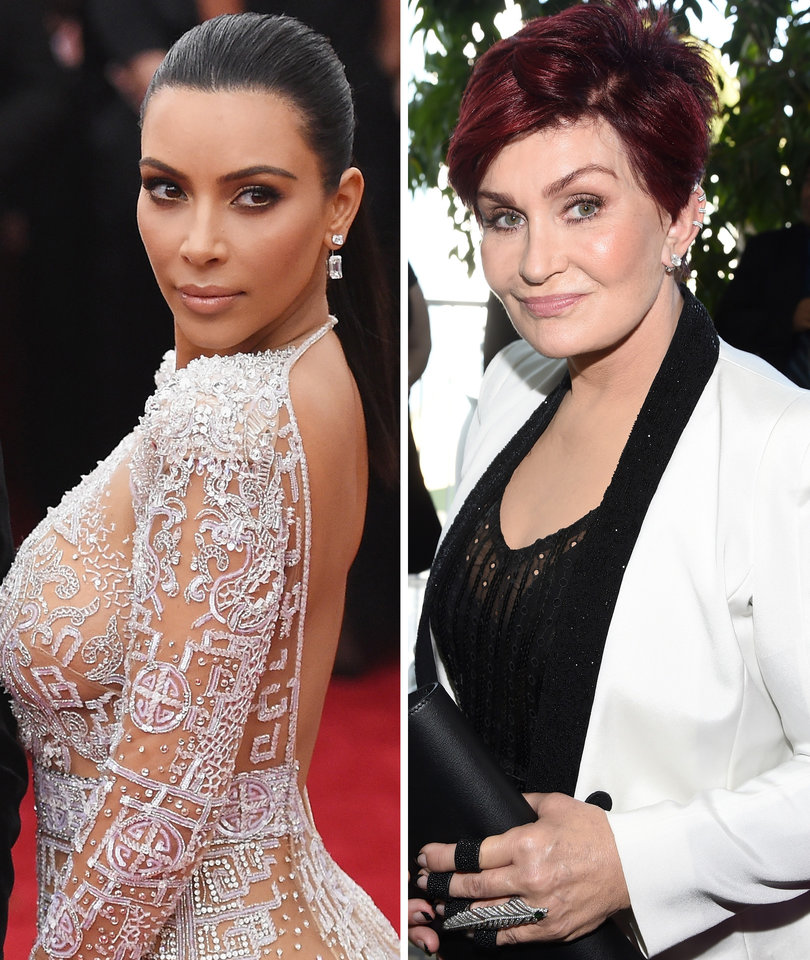 Kim Kardashian Claps Back at Sharon Osbourne For Calling Her a 'Ho'