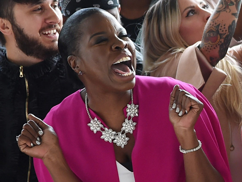Leslie Jones Losing Her Sh-t at NYFW Is the Best Thing on the Internet