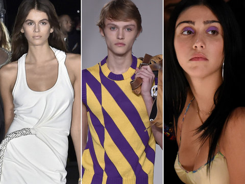 Hollywood's Next Generation Takes Over NYFW 2017