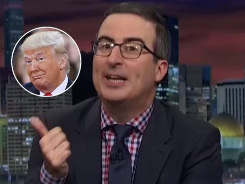 'Out of His F-cking Mind': John Oliver Tears Into Trump Over DACA