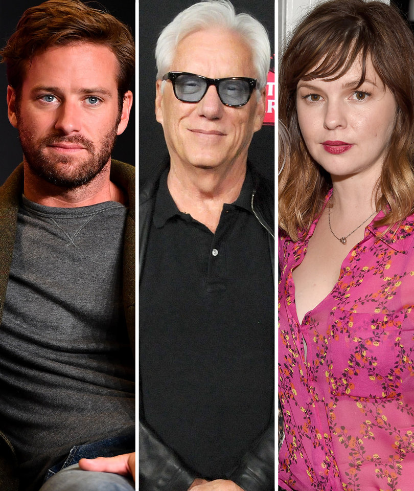 Armie Hammer, Amber Tamblyn Drag James Woods Over Anti-Gay Remarks