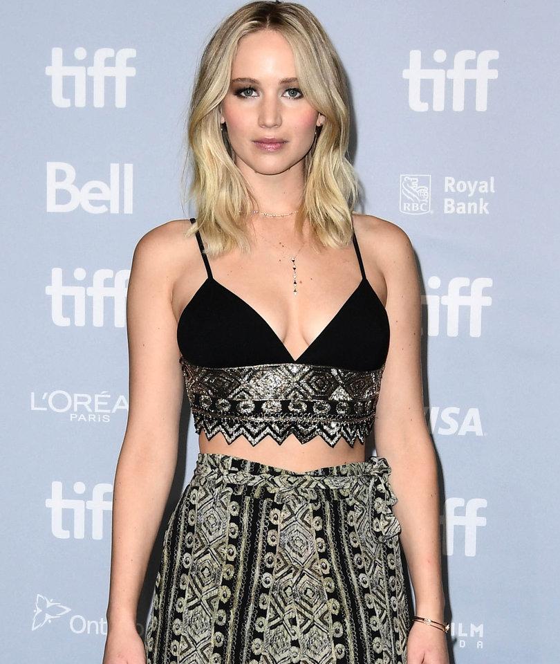 Jennifer Lawrence Takes Her Stylish 'mother!' Press Tour to Toronto