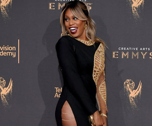 Laverne Cox Rocks Leggy Look at the Creative Arts Emmys