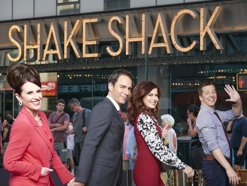 How NBC's 'Will & Grace' Shacked Up With a Burger Chain to Make Sassy Shakes (Exclusive)