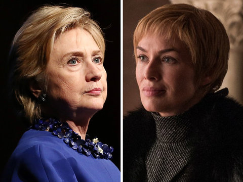Why Hillary Clinton Is Comparing Herself to 'Game of Thrones' Villain Cersei Lannister in…